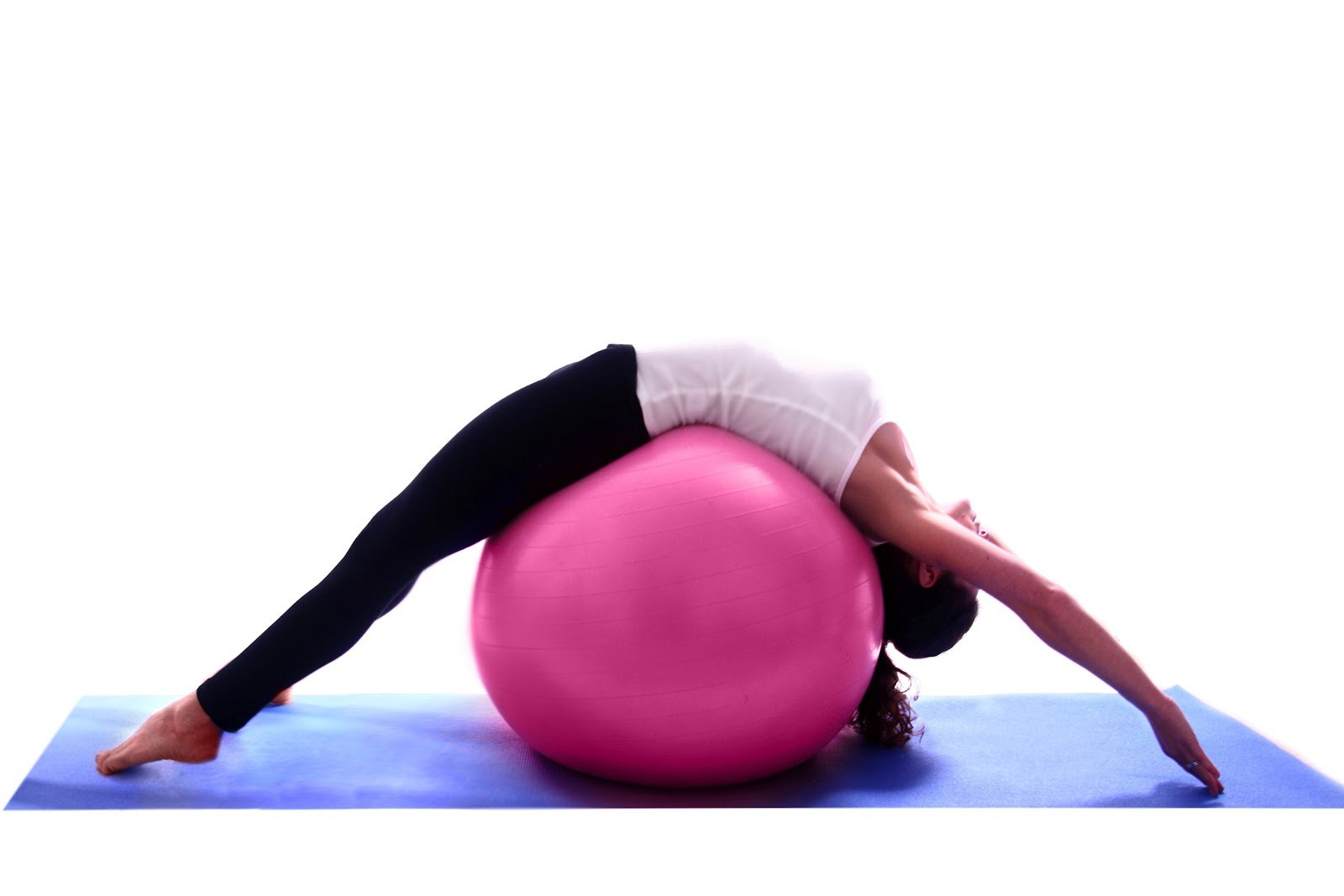 pilates con fittball